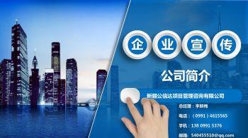 新疆公信达项目管理咨询有限公司 企业简介-李总电子画册