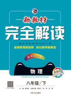 《新教材完全解读》沪科版  物理 八年级下   电子书