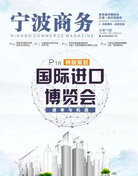 宁波商务 2018.12宣传画册