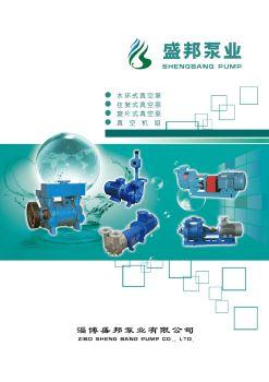 淄博盛邦泵业有限公司电子画册