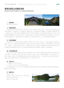 济南文旅产业招商推介项目宣传画册
