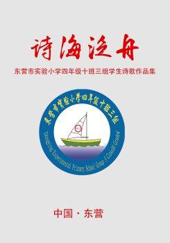 东营市实验小学四年级十班三组诗集《诗海泛舟》