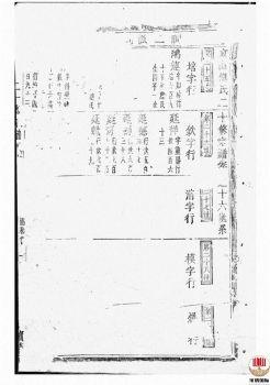 东山傅氏二十修宗谱_ [金华]第3册电子刊物