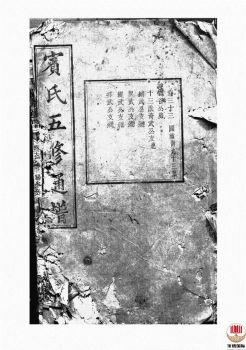宾氏五修通谱_ 五十卷:[衡阳]-第22册电子书