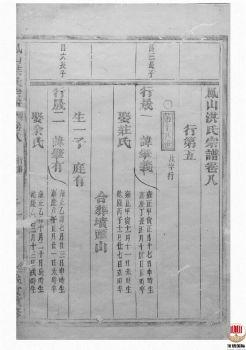 凤山洪氏宗谱_ 十二卷,首一卷:[金华]-第8册电子书
