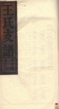 合肥王氏支谱第1册电子宣传册