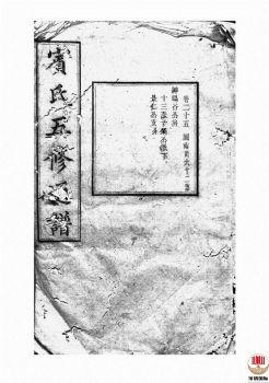 宾氏五修通谱_ 五十卷:[衡阳]-第17册电子书