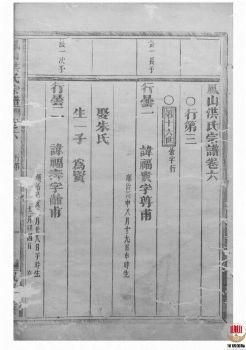 凤山洪氏宗谱_ 十二卷,首一卷:[金华]-第6册电子书