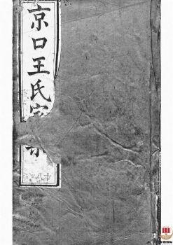 京口顺江洲王氏第十二次增修家乘_ 二十四卷:[丹徒]第17册电子书