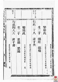 凤山洪氏宗谱_ 十二卷,首一卷:[金华]-第5册电子书
