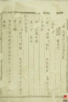 荷塘单氏重修宗谱_ 二十卷:[东阳]第5册电子书
