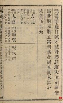 粟氏续修族谱_ 十六卷,首一卷:[湖南邵阳]第16册电子书
