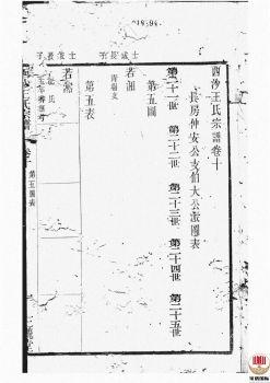 西沙王氏宗谱_ 二十卷,首一卷[江阴]第10册电子书