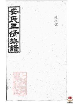 湖南省汉寿县大围堤安氏三修族谱_ [湖南汉寿]第2册电子宣传册