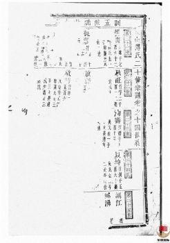 东山傅氏二十修宗谱_ [金华]第2册宣传画册