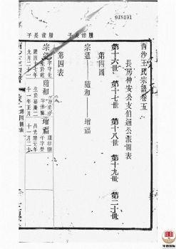 西沙王氏宗谱_ 二十卷,首一卷[江阴]第7册电子书