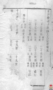 唐沙王氏宗谱_ 十二卷:[江阴]第5册电子书