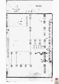 西沙王氏宗谱_ 二十卷,首一卷[江阴]第4册电子书