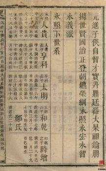 粟氏续修族谱_ 十六卷,首一卷:[湖南邵阳]第11册电子书