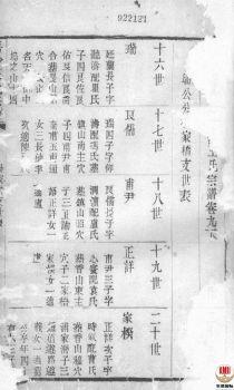 唐沙王氏宗谱_ 十二卷:[江阴]第11册电子书