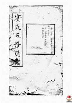 宾氏五修通谱_ 五十卷:[衡阳]-第20册电子书