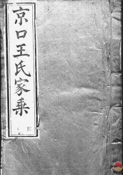 京口顺江洲王氏第十二次增修家乘_ 二十四卷:[丹徒]第4册电子书