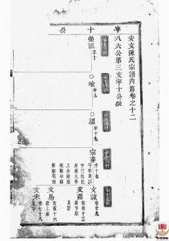 安文陈氏宗谱_ [东阳]第8册电子宣传册