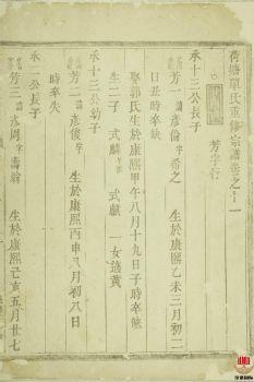 荷塘单氏重修宗谱_ 二十卷:[东阳]第11册电子书