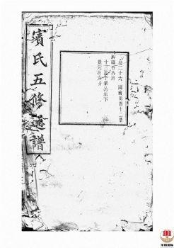 宾氏五修通谱_ 五十卷:[衡阳]-第18册电子书