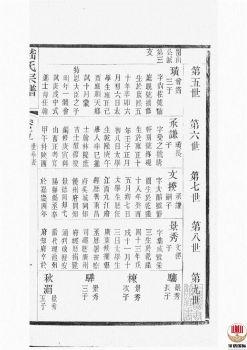 嵇氏宗谱_ 八卷,首一卷:[无锡]第3册电子书