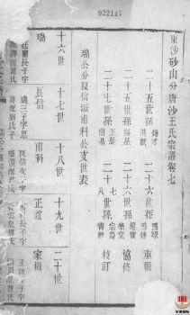 唐沙王氏宗谱_ 十二卷:[江阴]第7册电子书