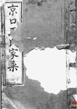 京口顺江洲王氏第十二次增修家乘_ 二十四卷:[丹徒]第11册电子书