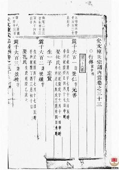 安文陈氏宗谱_ [东阳]第3册宣传画册