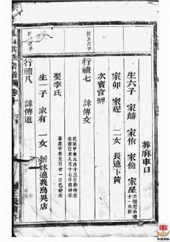 凤山洪氏宗谱_ [金华]-第1册电子刊物