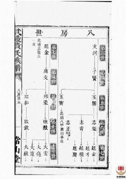 武陵贵氏族谱_ 不分卷第5册电子书