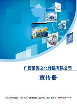广西沿海文化传媒有限公司宣传册