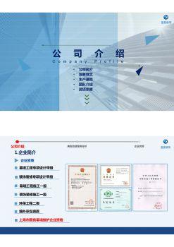 蓝星装饰(既有幕墙维护)电子画册