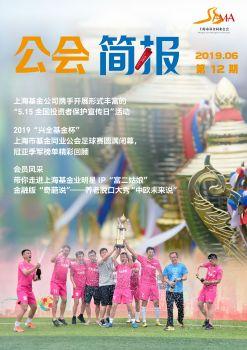 上海市基金同业公会简报第十二期(2019.06)宣传画册