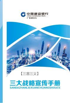 三大战略宣传手册