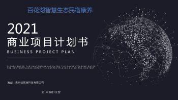 百花湖智慧康养民宿商业融资计划书2021电子书