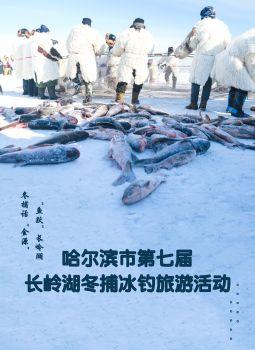 哈尔滨市第七届长岭湖冬捕冰钓旅游活动电子宣传册