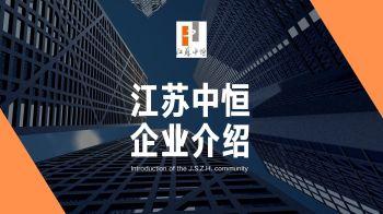 江苏中恒企业宣传册,电子画册,在线样本阅读发布