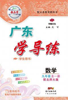 广东学导练-数学-九年级全一册-配北师大版 电子书制作平台