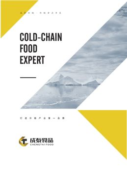 成泰食品企業宣傳畫冊