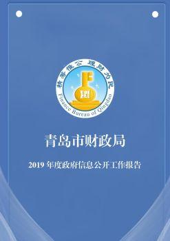 青岛市财政局2019年信息公开工作报告电子杂志