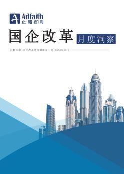 正略咨询国企改革月刊 电子书制作软件
