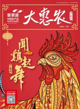 大惠农1月内刊,电子书免费制作 免费阅读