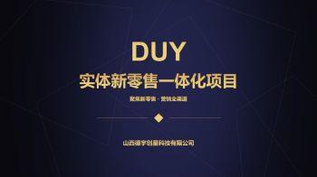DUY实体新零售项目电子画册