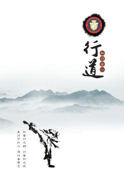 跆拳道宣传画册