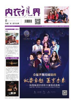 《内衣视界》电子版2017年11月刊